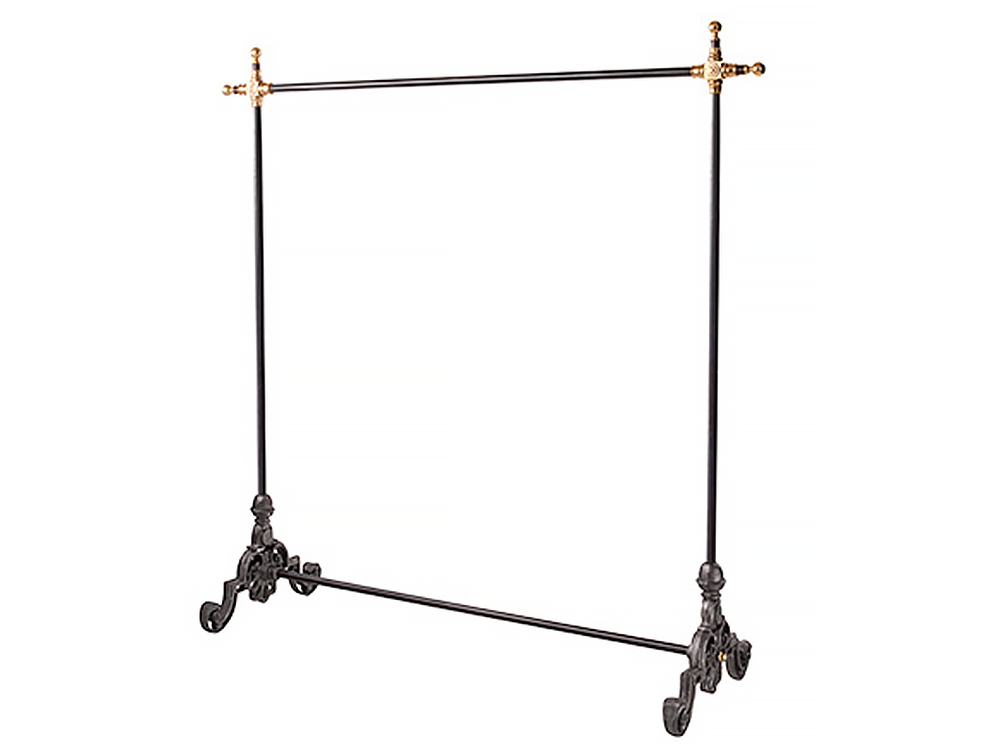 Cast iron adjustable hanger rack