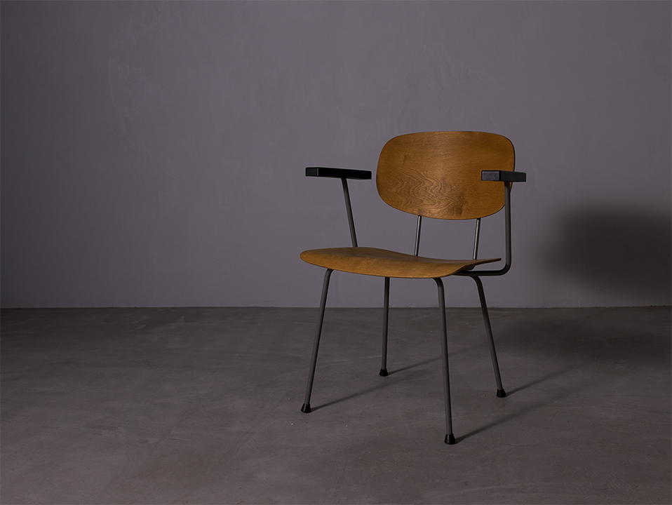 Model 216/1247 Dining Chair lウィムリートフェルト Gispen Model 216/1247