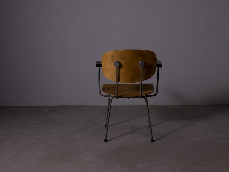 Model 216/1247 Dining Chair lウィムリートフェルト Gispen Model 216/1247