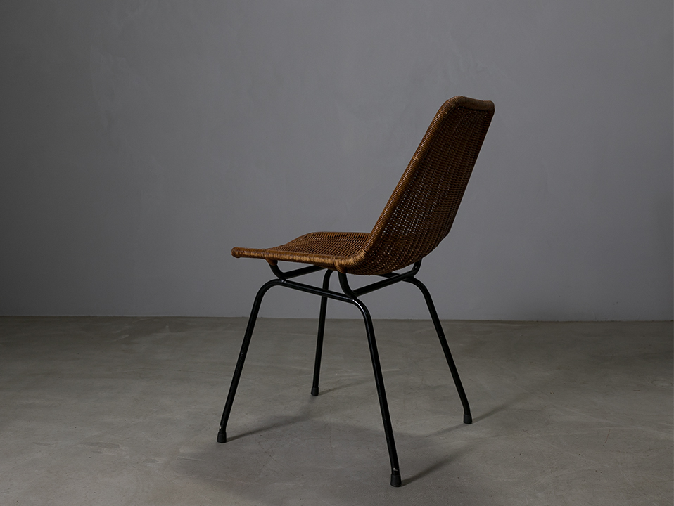 Vintage rattan chair l ヴィンテージ チェアー