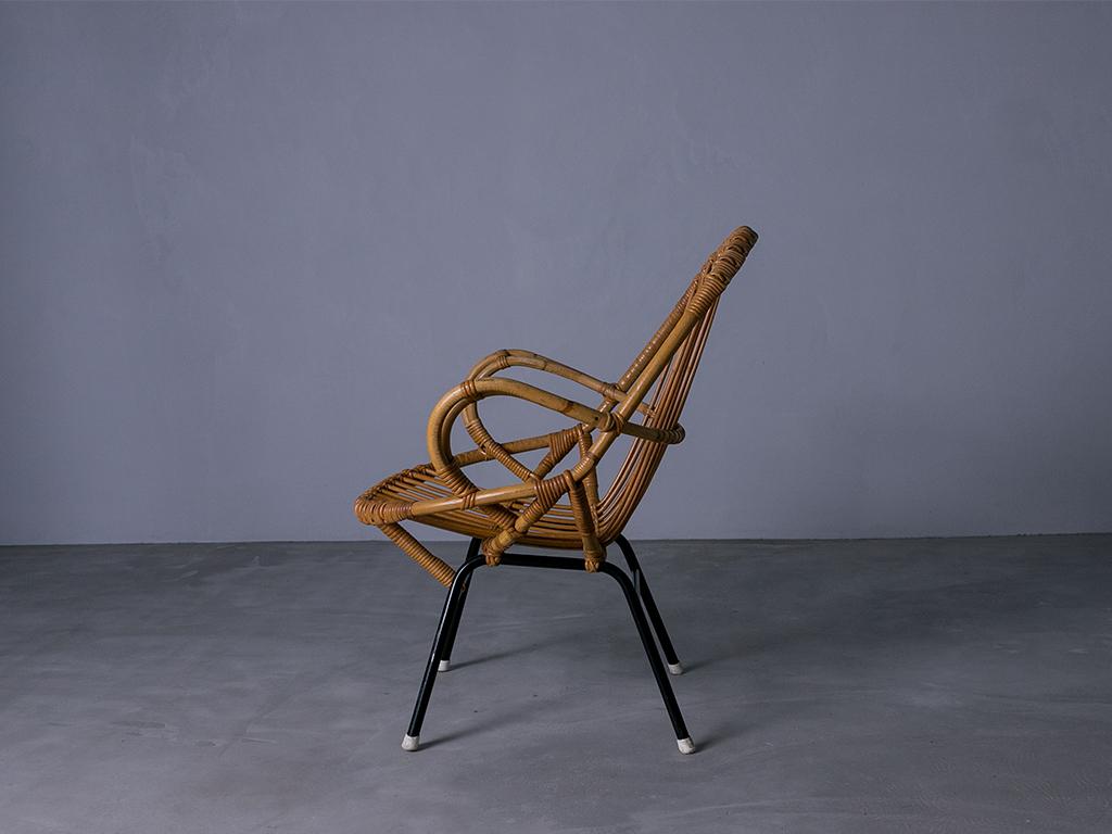 Vintage Rohé  Rattan Chair l ラタンチェアー