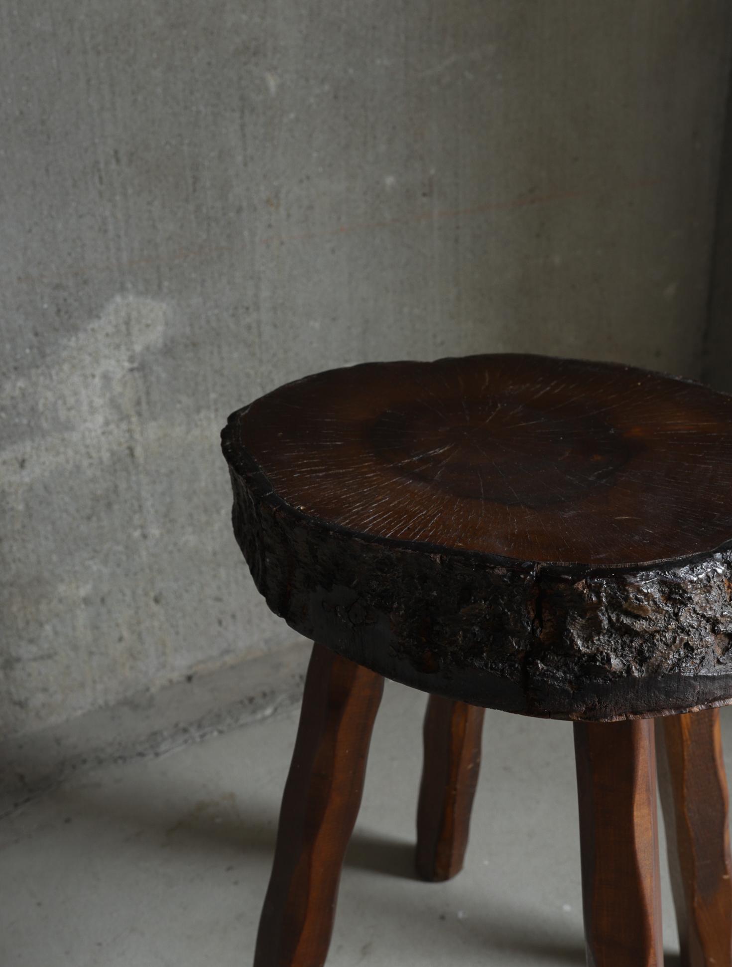 Primitive Wood Stool I スツール