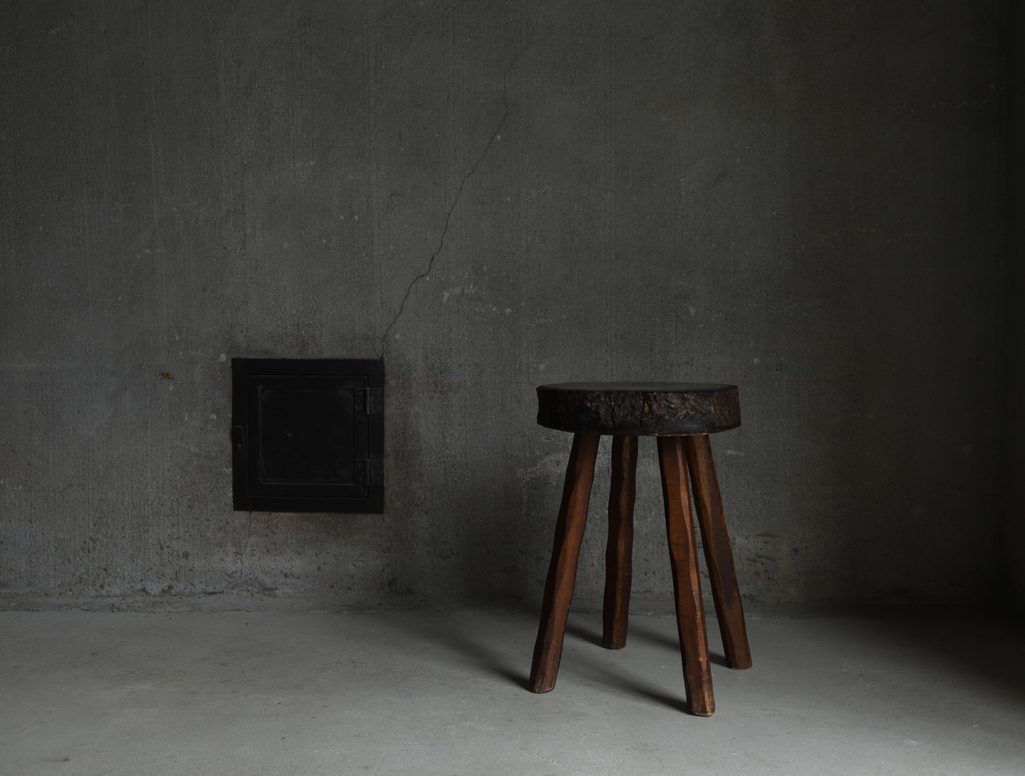 Primitive Wood Stool I スツール