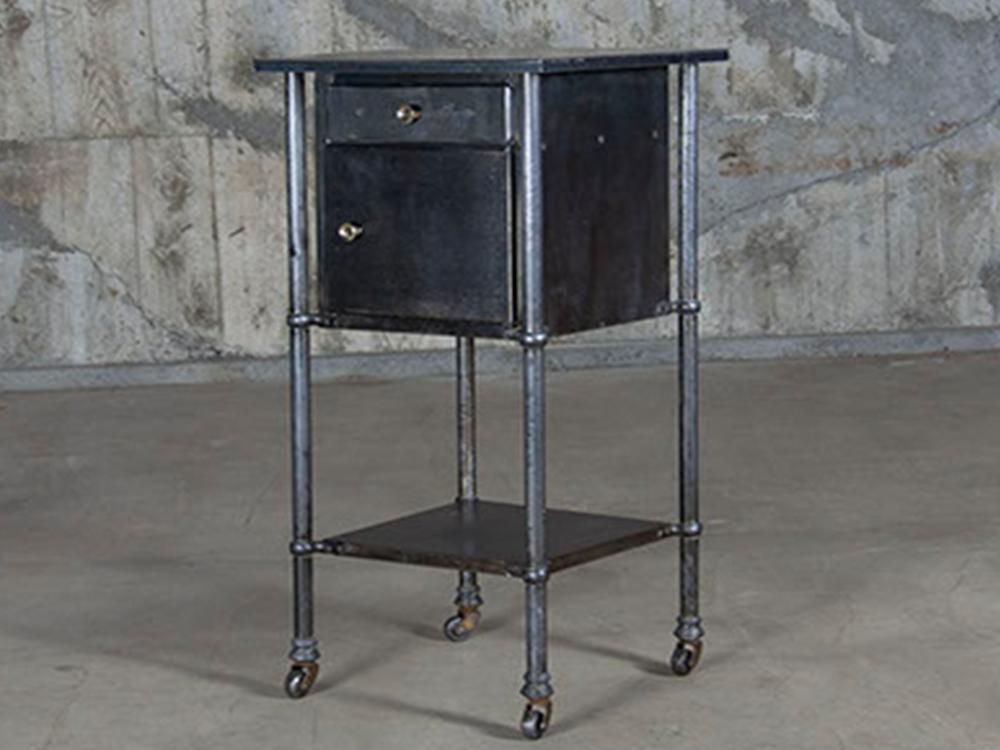 Vintage metal side cabinet