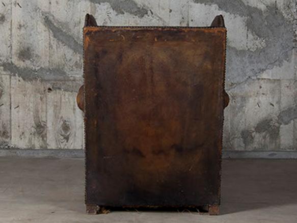 Object leather sofa