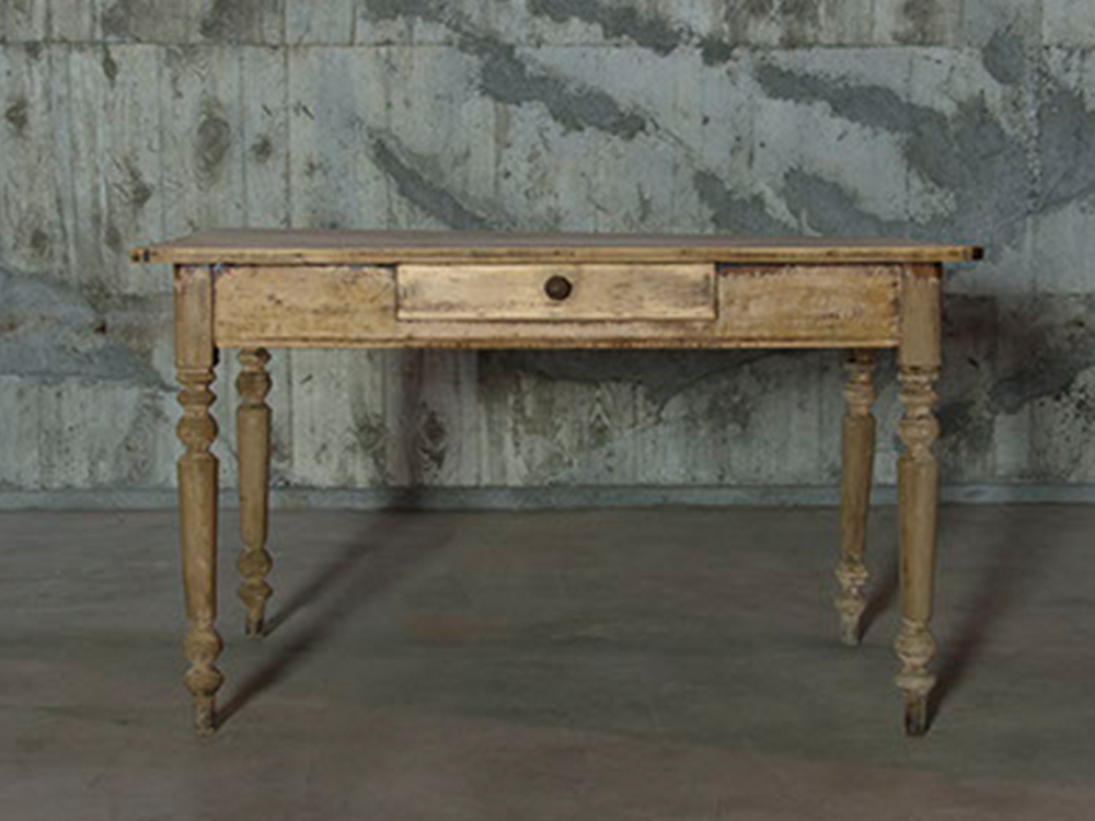 Pine square table