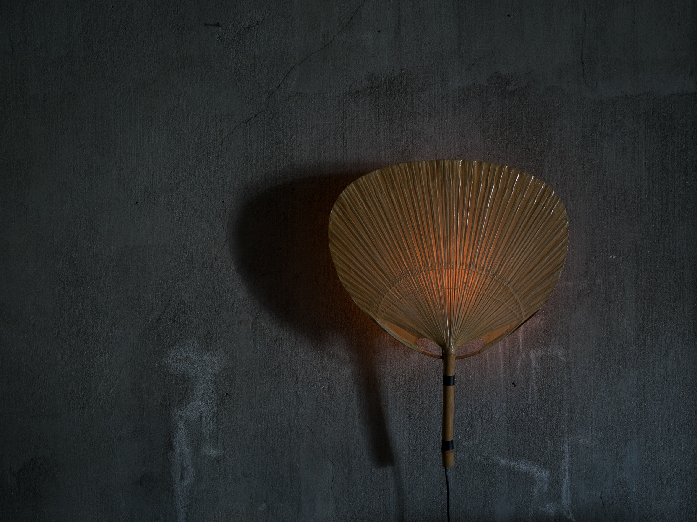 Uchiwa Wall Lamp by Ingo Maurer