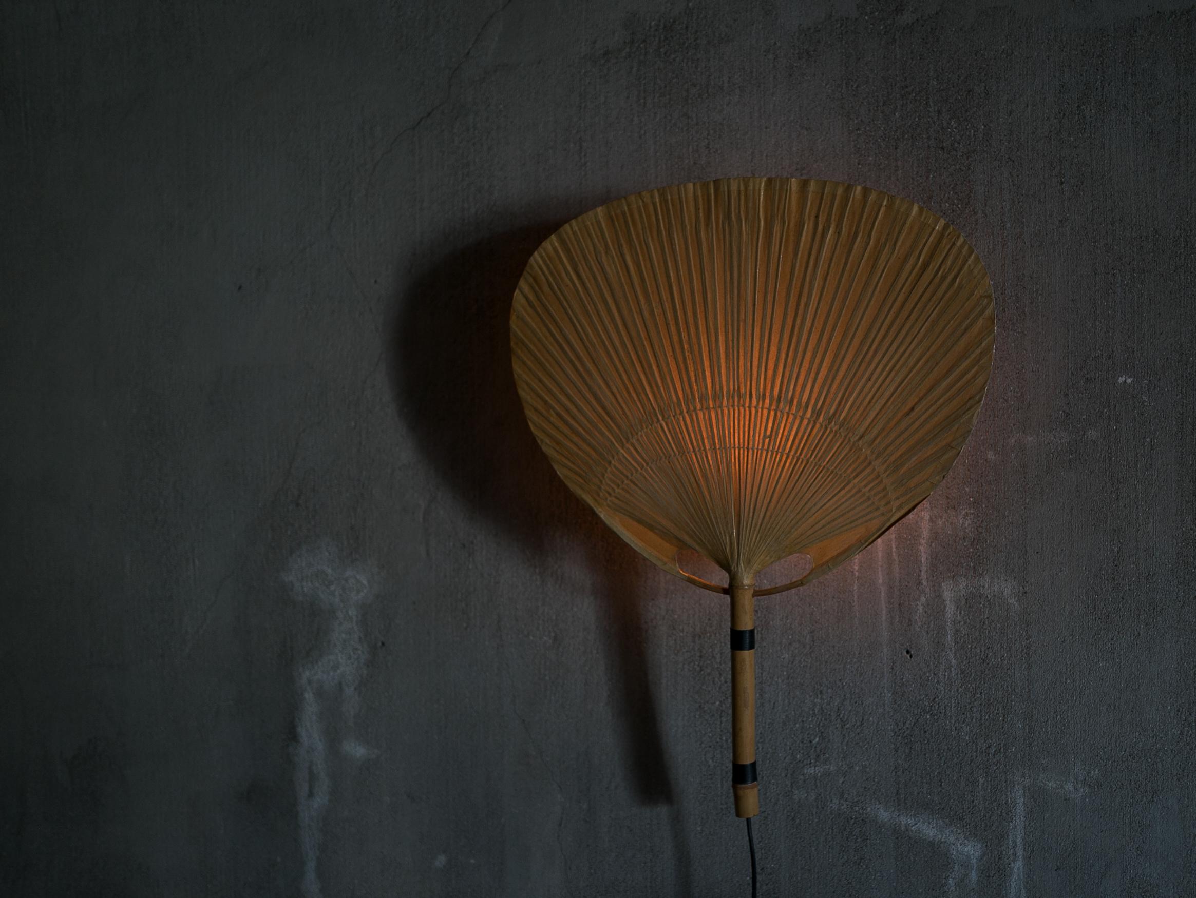Uchiwa Wall Lamp by Ingo Maurer