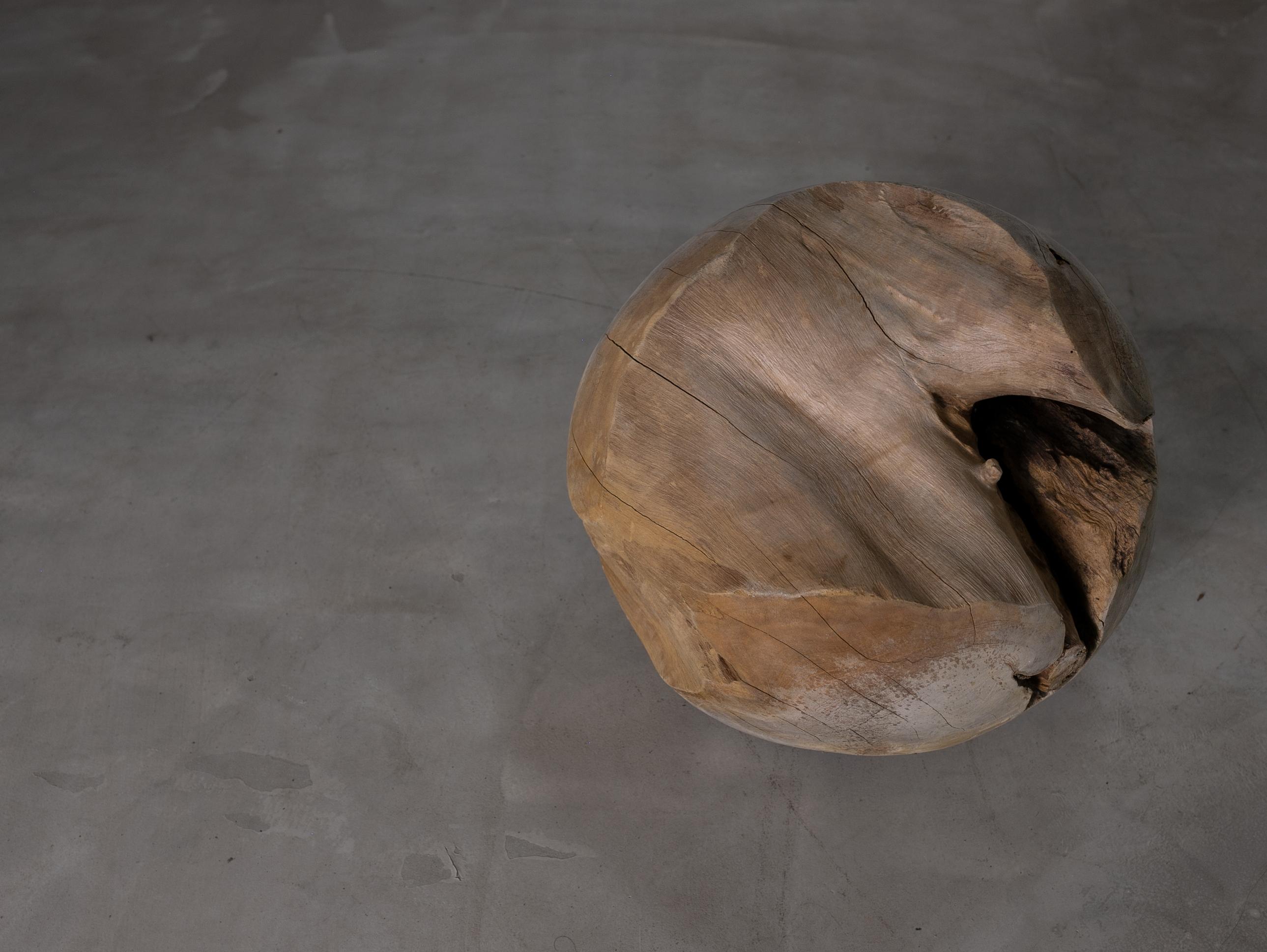 Wooden Teak Ball I 木製ボール