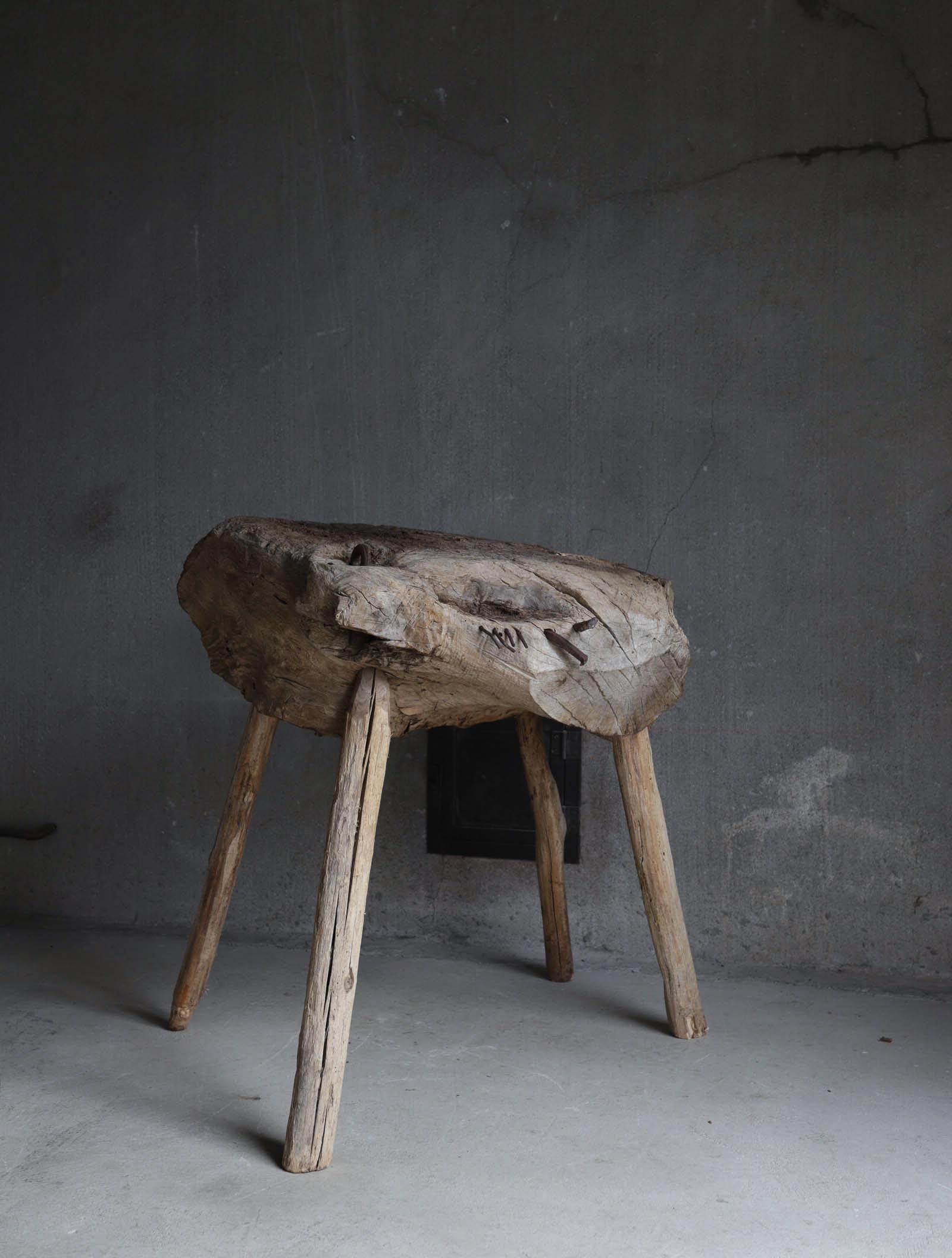 Antique Primitive Stand