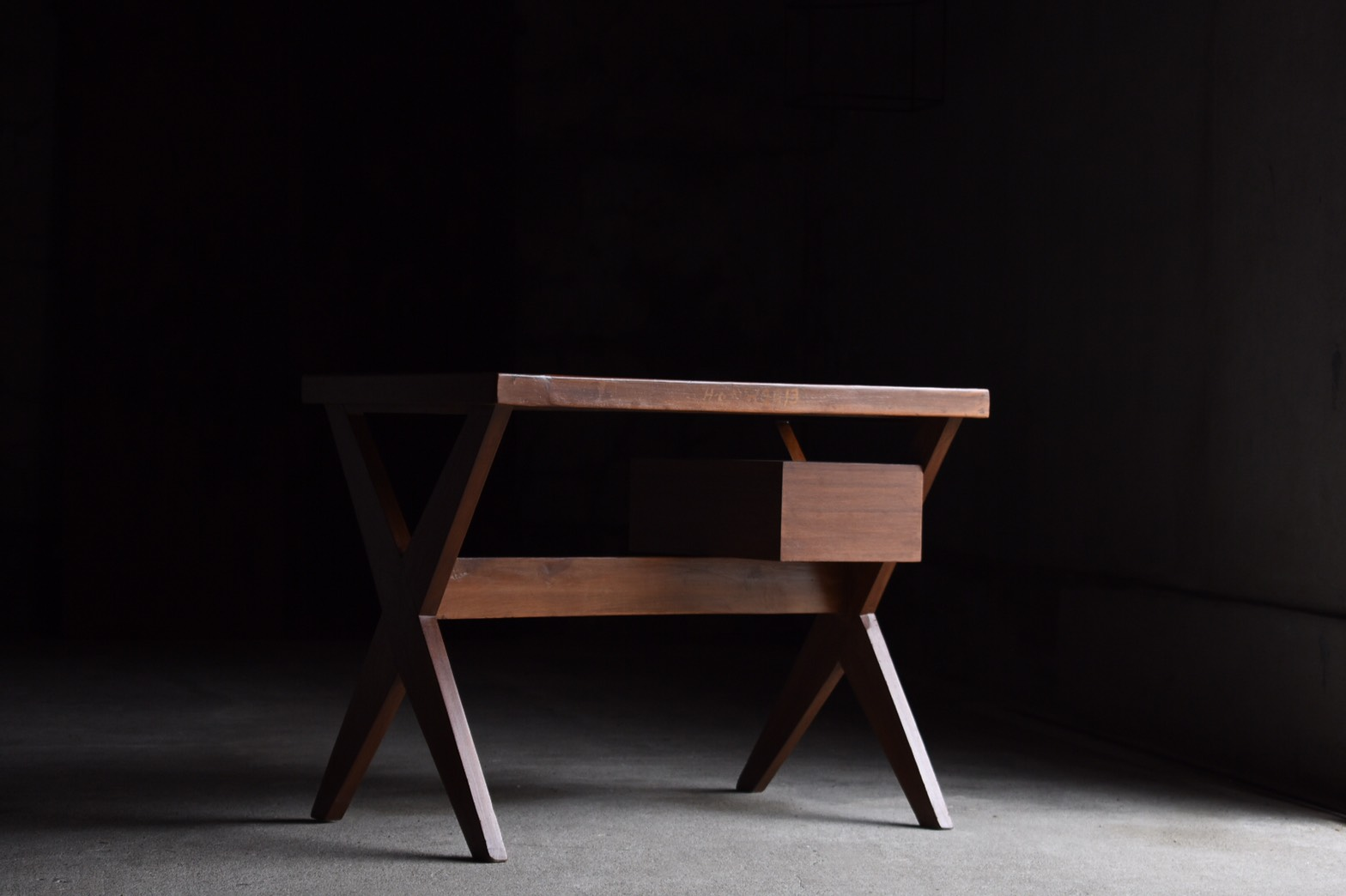 X Leg Desk by Pierre Jeanneret