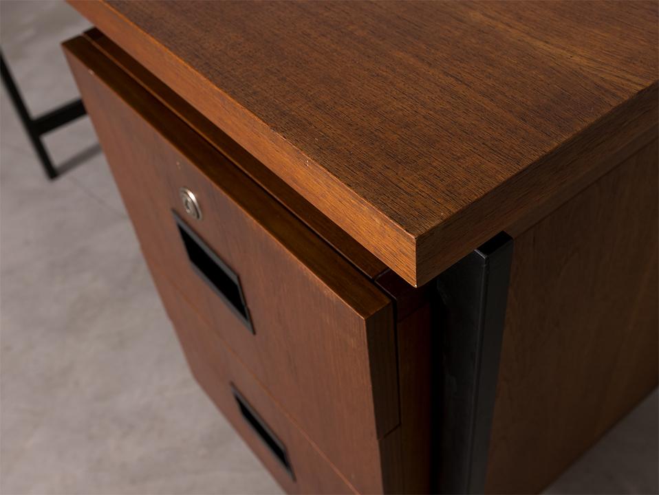 """Pastoe EU01 Japanse serie Desk by Cees Braakman l """"パストエ"""" ビンテージデスク"""